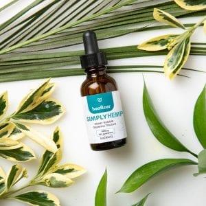 bonfleur simply hemp extract in glycerine
